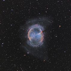 M27 - Dumbbell Nebula, via Flickr.