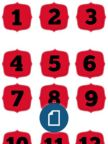 Multi Polka Dot Letters Uppercase