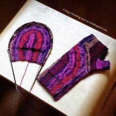 Knitting and so on (blog post): Constructing Fingerless Gloves