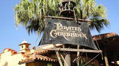 Disney's PIRATES OF THE CARIBBEAN - On Ride Pandavision - Nightvision  -...