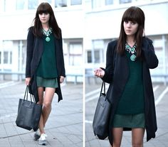 Get this look: http://lb.nu/look/4004794  More looks by Lucy De B.: http://lb.nu/lovelybylucy  Items in this look:  Statement Necklace, New Balance Sneakers