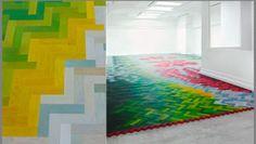 Il parquet colorato di Wall to Wall