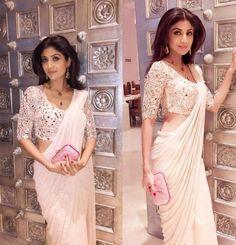 Shilpa Shetty in Mohisha's saree