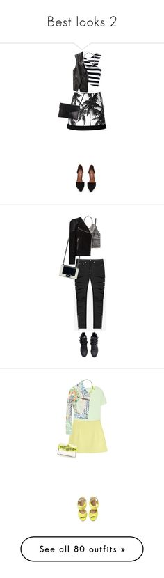 """""""Best looks 2"""" by zeina-amrnasr ❤ liked on Polyvore featuring FAUSTO PUGLISI, Ally Fashion, Jeffrey Campbell, Lotuff & Clegg, 3.1 Phillip Lim, Yves Saint Laurent, H&M, Chanel, Stella & Dot and MANGO"""