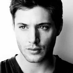 Jensen Ackles  His face is perfect symmetry