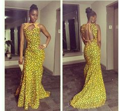 Bangou Gown by THEAFRICANSHOP on Etsy.com! Fab!