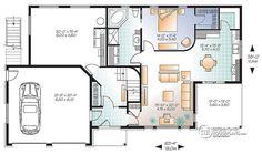 Multi family plan W3046 detail from DrummondHousePlans.com