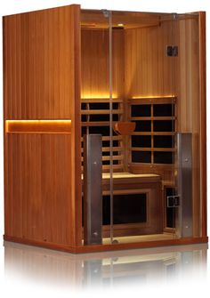Clearlight Saunas Offer Spruce And Cedar Low EMF Sauna Options In Different Sizes Models Browse Our Infrared For Sale With Lifetime Warranties