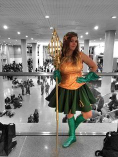 Aquaman cosplay at NYCC 2014