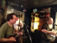 Singing it at the Argonaut!