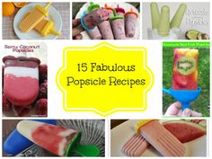 15 Fabulous Homemade Popsicle Recipes