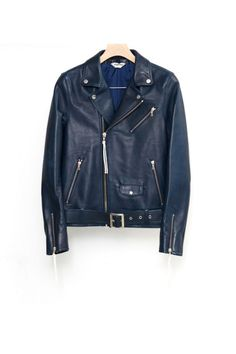 DIGAWELLEATHER RIDER'S JACKET - Graphpaper