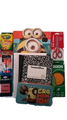 nice Despicable Me 2 Back to School Classroom Supplies
