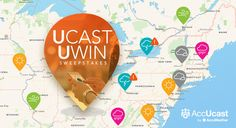 I entered the Ucast Uwin Sweeps from #AccUcast. Enter here.