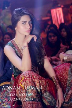 Pakistani fashion model , huma khan