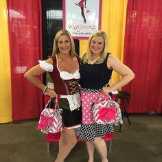 See #Vivajennz purses in Columbus! #oktoberfest #wine