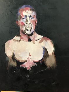 At the turn of the twentieth century, these men fought for a living. Exhibition from - March 2018 at Stanley Street. Street Gallery, The Twenties, Beautiful Things, Boxer, Sport, Painting, Deporte, Boxer Pants, Excercise