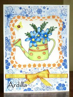 Ardilla's Papers: Watering can