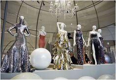 """Ballgowns: British Glamour Since Exhibition at the V & A Museum in London Cheap Clothes Uk, V & A Museum, Glass Of Champagne, British Style, British Fashion, I Love Fashion, Fashion Design, The V&a, Gareth Pugh"
