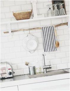 Küchenstange küchenstange aus einem ast kitchen