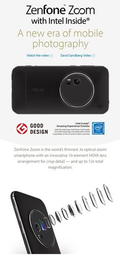 ASUS ZenFone Zoom (ZX551ML 4GB/128GB)-White >ASUS Store