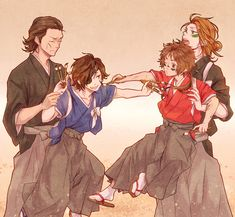 Tags: Fanart, Sengoku Basara, Date Masamune (Sengoku Basara), Sanada Yukimura (Sengoku Basara), Pixiv, Katakura Kojuurou, Sarutobi Sasuke, H...