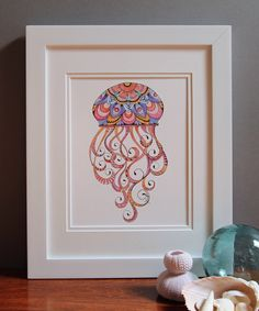 Excited To Share The Latest Addition My Etsy Jellyfish Art