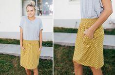 ON sale $21.99 - GroopDealz | Polka Dot Skirt