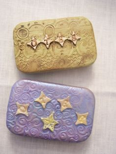 Polymer Clay Covered Altoid Tins