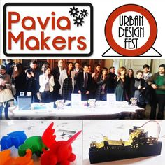Pavia Makers - Urban Design Fest!  2 contest per Makers  Da luglio 2015, siamocollaboratori del Comune di Pavia e responsabili della comunicazione e della diffusione di due interessanti bandi per competizioni di idee rivolte a makers, designer, architetti, ingegneri,