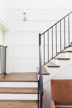 Staircase Inspiration - Metal Railings Design