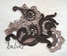Letters and Arts of Lala: Irish crochet