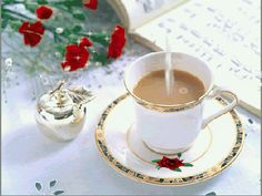 Gif_Paradise: TEA AND COFFEE GIFS