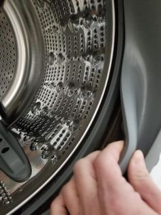 Don't forget to pull back the Washer Rubber Seal and clean it.