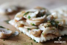 Ceviche de champignons