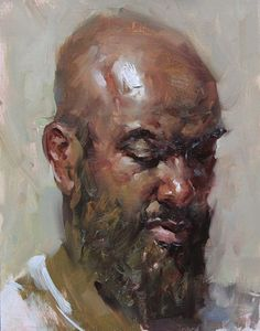 """Marvin"" original fine art by Fongwei Liu"