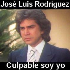 Acordes D Canciones: Jose Luis Rodriguez - Culpable soy yo