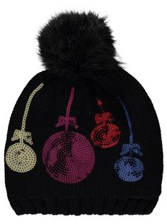Bauble Hat for #Ugly Sweats Party - great for those - Hanging Bauble Sweaters