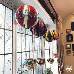 100均のボールと毛糸で作る!インテリアにもなる気球|LIMIA (リミア)