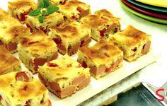 Torta Rápida de Salsicha   Aniversário   Receitas Gshow