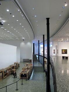Houston Museum of Fine Arts - Mies Houston Museum, Ludwig Mies Van Der Rohe, Museum Of Fine Arts, Love Design, Travel Usa, Interior Design, Table, Modern Architecture, Furniture