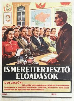 Budapest Poster Gallery is based in Budapest, Hungary, dealing in all kinds of original vintage posters and ephemera, offering worldwide shipping. Anti Capitalism, Communism, Vintage Ads, Vintage Posters, Budapest, Ww2 Propaganda Posters, Restaurant Pictures, Illustrations And Posters, Hungary