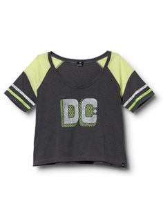#DC Women's Field Goal top in neon lights.  #Collection 2013 for Women #2dayslook #Collection fashion #2013forWomen  www.2dayslook.com