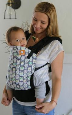 Canvas - Tula Release 'SKULLS' Tula Baby Carrier; Released 2014