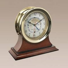 Check out the Authentic Models SC042 Captains Time and Tide Clock