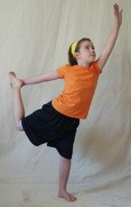 dancer pose MY Favorite yoga pose