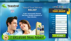Yeastrol™, All-Natural Yeast Infection Relief. A safe homeopathic remedy that's been proven to work. Homeopathic experts combined 12 super ingredients to ward of many symptoms of yeast infection, inside out, not just itching. Formula enters your system quickly when using two simple to use sprays under tongue, 3x daily. Claim Your Exclusive Trial Today!