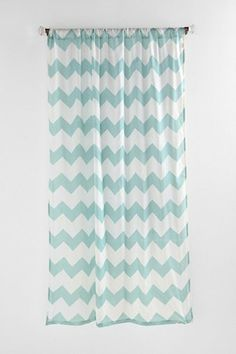 Zig Zag Curtain #UrbanOutfitters 52x96 $44 Per Panel  Be Sure To See If The  Pattern Lines Up When Hanging Two On The Same Window.