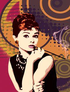 Audrey Hepburn (clique na imagem para ver mais)