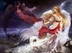 Die bösen Götter stehen für alles Niederträchtige und Düstere. Sie hausen irgendwo tief in den Innereien der Welt. Durch einen mächtigen und unpassierbaren Strom von allem anderen getrennt ist das Reich des Vergessens, in welches die Seele nach dem Tod eines Individuums gelangt. Dort wird entschieden, welche Seele das Paradies schauen darf, welche Seele erneut in den Kreislauf von Wiedergeburt und Tod zrückkehrt und wer hinabgestossen wird in die ewigen Qualen der Finsternis. ---1